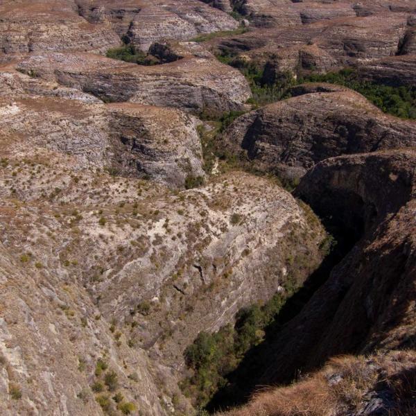 Dédale géologique